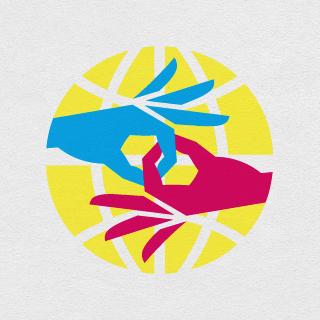 Logotipo XV Congreso Mundial de la Federación Mundial de Personas Sordas