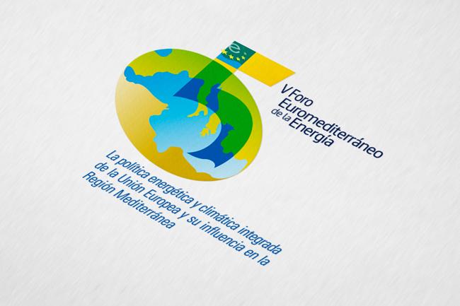 Logotipo V Foro Euromediterráneo de la Energía