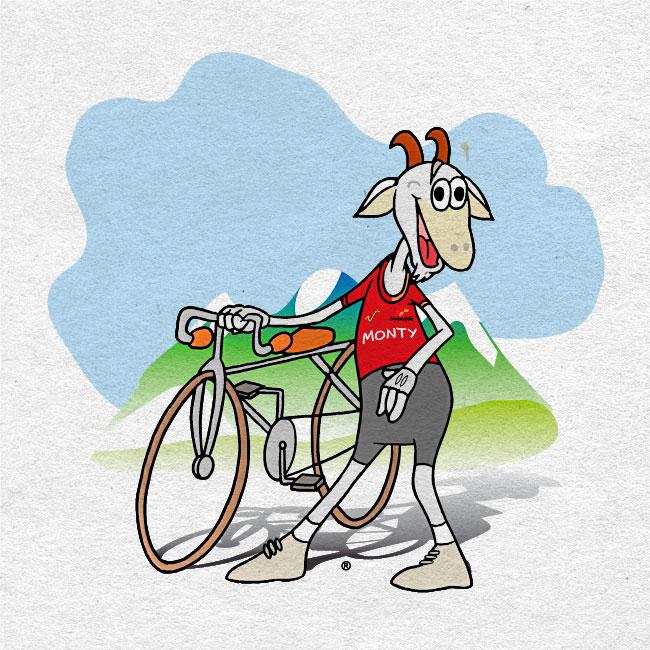 Mascopublic 2000. Equipo de mascotas Vuelta Ciclista España