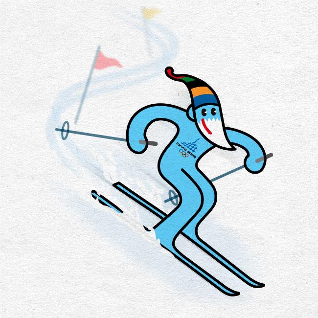 Torin. Propuesta de mascota para los JJ.OO. de invierno de Turin